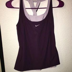 Nike workout top